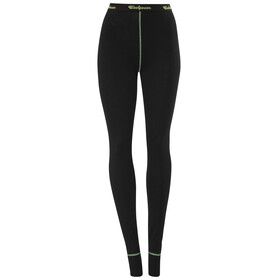 Woolpower Lite Long Johns Women black/light green